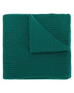 moncler вязаный шарф в рубчик Moncler