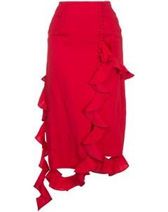 Irene асимметричная юбка с оборками Irene