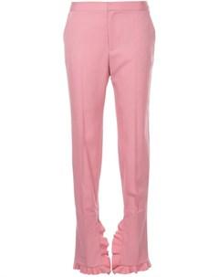 Irene брюки с оборками 36 розовый Irene