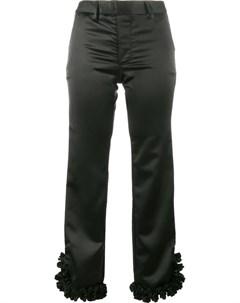 Jour ne укороченные брюки с рюшами на манжетах Jour/né