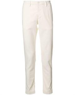 Al duca d aosta 1902 вельветовые брюки узкого кроя Al duca d'aosta 1902