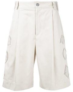 General idea шорты с вышивкой нейтральные цвета General idea