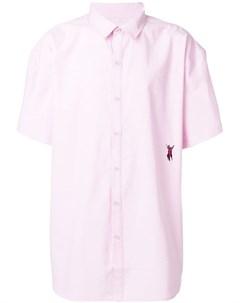 P a m приталенная рубашка с короткими рукавами P.a.m.
