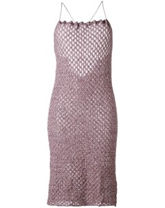 Vivienne westwood red label трикотажное платье на бретельках Vivienne westwood red label