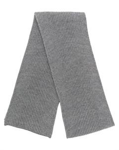 Andersen andersen шарф в рубчик один размер серый Andersen-andersen