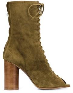 Valas ботинки со шнуровкой спереди Valas