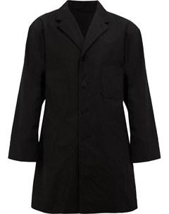 08sircus однобортное пальто 7 черный