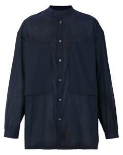 E tautz рубашка lineman с узким воротником стойкой E. tautz