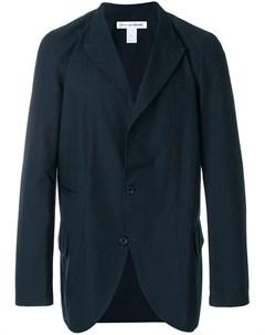 Comme des garcons shirt boys легкий пиджак с заостренными лацканами m синий Comme des garçons shirt boys