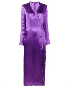 Attico платье с запахом raquel Attico