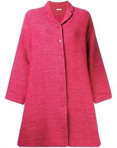 Apuntob однобортное пальто в стиле оверсайз Apuntob