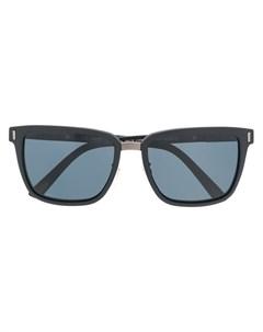 chopard солнцезащитные очки в квадратной оправе Chopard