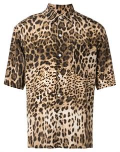 Local authority рубашка с леопардовым принтом нейтральные цвета Local authority