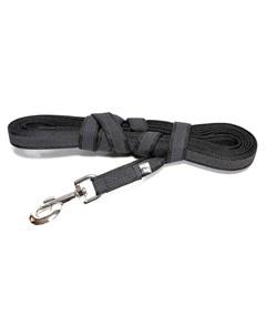 Поводок Color Gray Super grip для собак до 50кг с ручкой 2 500см цвета в ассорт Julius-k9
