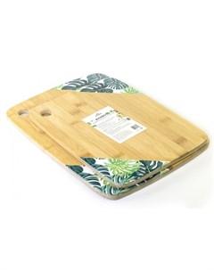 Доска разделочная Bamboo с принтом 28х21см Walmer