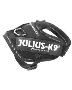 Шлейка IDC Powerharness Baby 2 для собак 2 5кг 33 45см черная Julius-k9