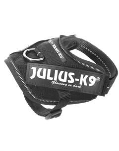 Шлейка IDC Powerharness 4 для собак 70 90кг 96 138см черная Julius-k9