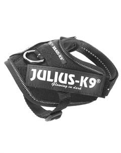 Шлейка IDC Powerharness Baby 1 для собак 0 8 3кг 29 36см черная Julius-k9