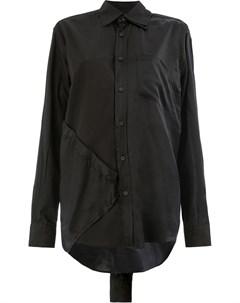 Moohong панельная рубашка 36 черный Moohong