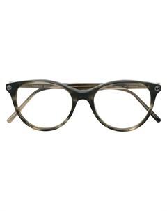 Tomas maier eyewear круглые очки 51 коричневый Tomas maier eyewear