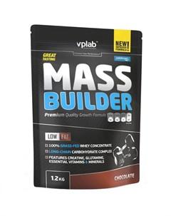 Гейнер Mass Builder Шоколад 1 2 кг Vplab