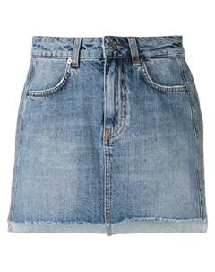 Gaelle bonheur джинсовая юбка с логотипом Gaelle bonheur