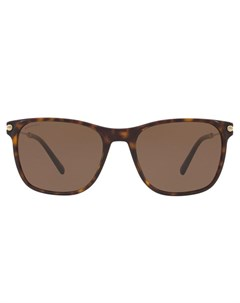Bulgari солнцезащитные очки в квадратной оправе Bulgari