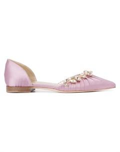 Sarah flint балетки luisa d orsay 39 розовый Sarah flint