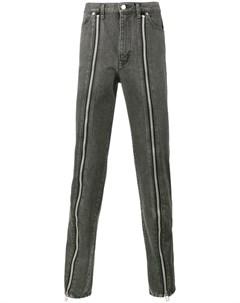 John lawrence sullivan джинсы с молниями спереди John lawrence sullivan
