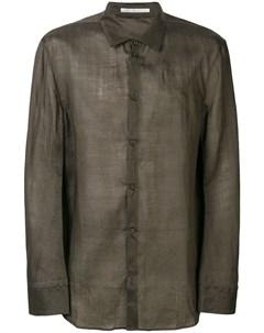 Taichi murakami рубашка с полосками Taichi murakami