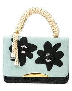 Lizzie fortunato jewels маленькая сумка тоут beatrice Lizzie fortunato jewels