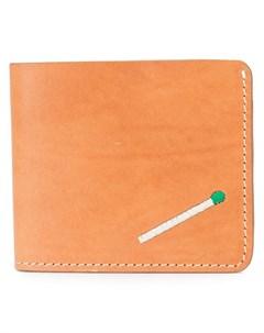 Nick fouquet кошелек со спичкой один размер коричневый Nick fouquet