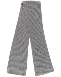 Joseph шарф с ребристой фактурой один размер серый Joseph
