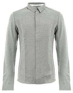 Individual sentiments рубашка с потайной застежкой Individual sentiments