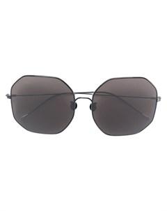 ann demeulemeester ультратонкие солнцезащитные очки авиаторы Ann demeulemeester
