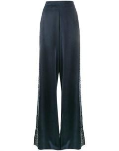 Lot78 широкие брюки с вышивкой Lot78