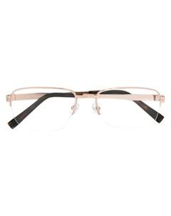 ermenegildo zegna оптические очки в квадратной оправе Ermenegildo zegna
