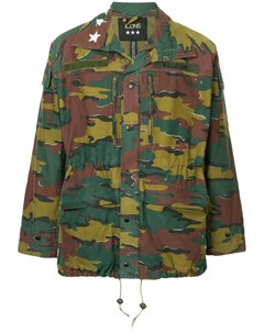 Icons камуфляжная куртка в стиле милитари Icons