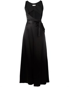 Attico платье с завязкой на талии 1 черный Attico