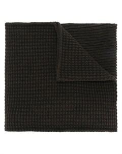 chalayan шарф с массивными карманами один размер коричневый Chalayan