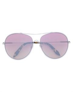 victoria beckham солнцезащитные очки в круглой оправе ик Victoria beckham