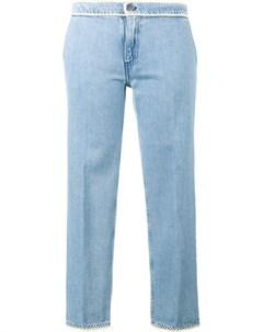 Jour ne укороченные джинсы с контрастной окантовкой Jour/né