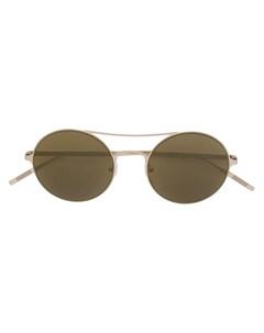 Tomas maier eyewear круглые солнцезащитные очки ик Tomas maier eyewear