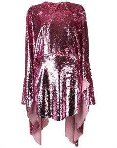 Paula knorr платье с асимметричным подолом и пайетками Paula knorr