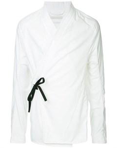 Abasi rosborough рубашка кимоно arc l белый Abasi rosborough