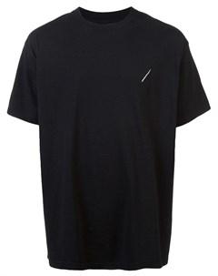 Nick fouquet футболка heritage с вышивкой s черный Nick fouquet