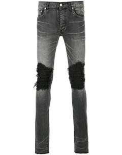 Fagassent джинсы скинни с рваной отделкой Fagassent