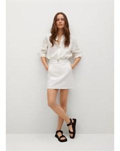 Джинсовая мини юбка с карманами Marion Mango