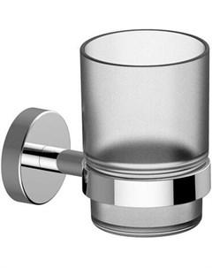 Стакан для зубных щеток SCANDI PRO стеклянный с крепление к стене Damixa