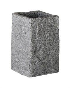 Стакан для зубных щеток Stone 250351 серый Без бренда